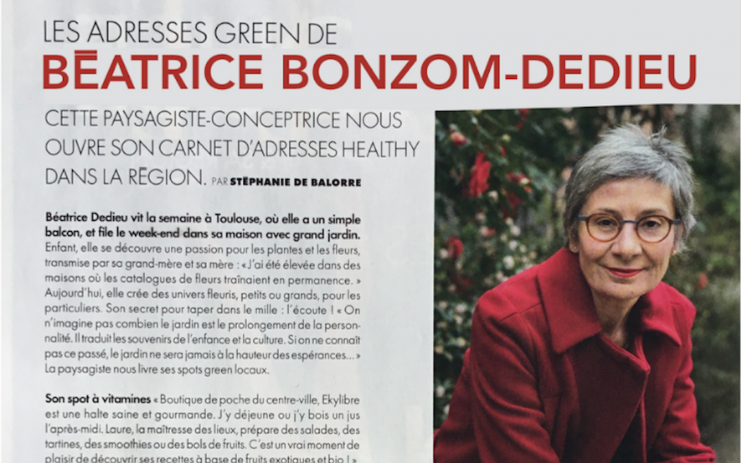 Mes adresses Green à Toulouse